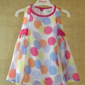 Платье на 3-6-9 месяцев