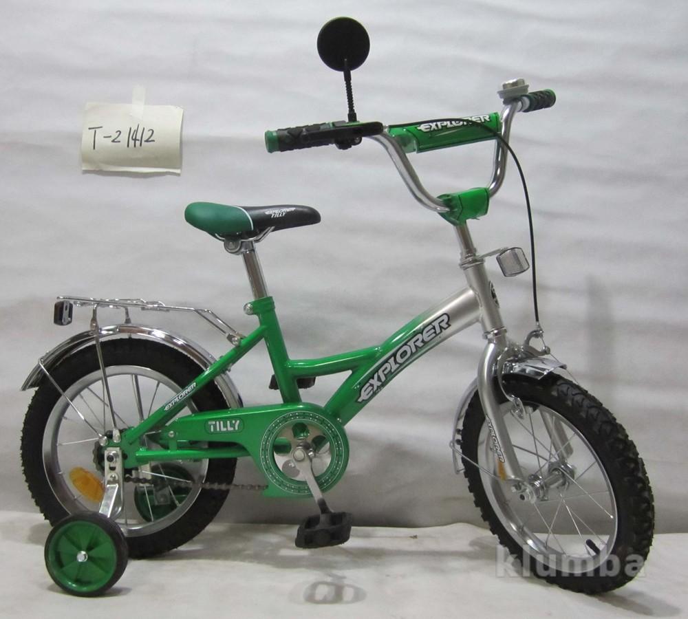 Велосипед explorer 14 дюймов фото №1