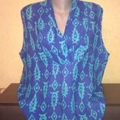 Блузка без рукавов, разм: uk18, 155гр, по Акции 90гр