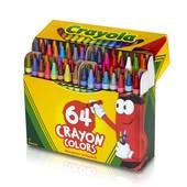 Crayola набор восковых карандашей 64шт Crayons