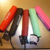 Оригинал! Зонты 5 цветов-черный,красный,бордо,розовый,ментол бренд Plato суперцена