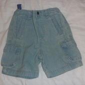 шорты джинсовые (бриджи) на 2-4 года
