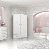 Гарантия 2 года! Комплектуете сами! Модульная детская комната Мишка белый, 8 пр., укр. производство