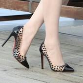 Летние силиконовые туфли лабутены под заказ.