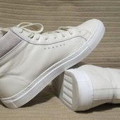 Великолепные высокие белые кеды Filippa K Morgan- high-top trainers