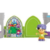 Fisher-Price Little People Jester pop open castle