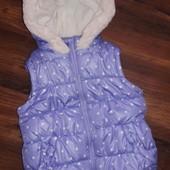 Куртка жилетка George на 2-3 года.