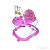 Детские ходунки Bambi JS307 Pink
