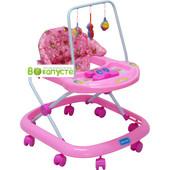 Детские ходунки Bambi JS304 Pink