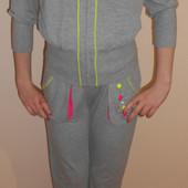 Спортивные костюмы на девочек, 146, 152 , Deloras