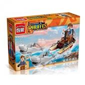 Конструктор Brick 1302 пиратская серия