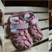 Кожаные босоножки-сандали размер 21-22 13 см по стельке