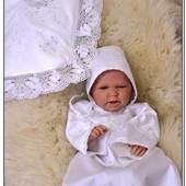 Крестильный комплект набор для крещения, крестильная рубашка Византия