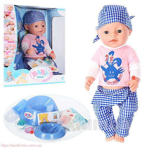 Кукла пупс baby born, беби борн.  беби бон фото №1