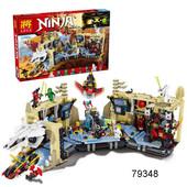 Леле ниндзя 79348 конструктор Хаос в X-пещере самураев Lele Ninja нинзяго