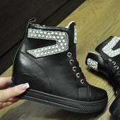 Сникерсы ботинки демисезонные 36, 37, 38, 39, 40, 41 размер