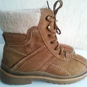 Кожаные ботинки C-A-N-D-A 38-39р.