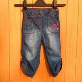 Джинсы-бриджи-капри для девочек,новые,р.80-90-100