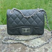3-154/1 Сумка Chanel mini кожа икра / Женская сумочка / клатч