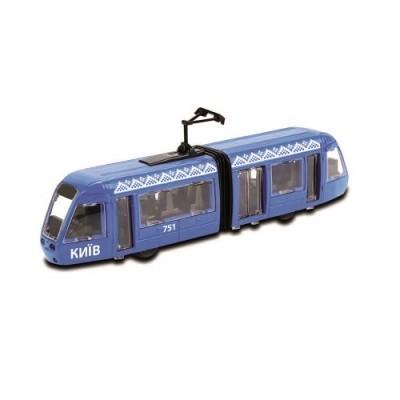 Technopark модель трамвай киев свет звук машинка технопарк автомодель фото №1