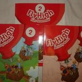 Продам учебники по английскому: Fly High 1,2,3,4 класс. Pupils' book+Activity Book