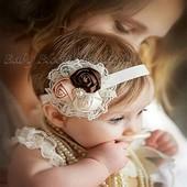 Цветочные повязки для маленьких принцесс