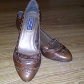 Брендовые кожаные туфли 5th avenu