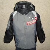 Куртка Spider-Man 3-4г(98-104см)Мега выбор обуви и одежды!