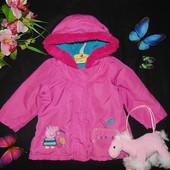 Распродажа!Куртка Peppa Pig 9-12м(74-80см)Мега выбор одежды и обуви