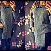 Модное демисезонное пальто