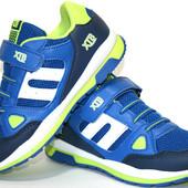 Детские кроссовки для мальчика XTB Польша (3 цвета) размеры 31-36 № 78137