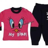 Яркий костюм для девочки My bird, Турция, 2903-0094