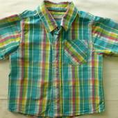 рубашка  98см Marks&Spencer