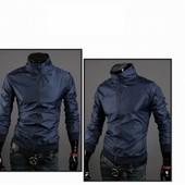 (2з)Ветровка тёмно-синего цвета,S M L XL.