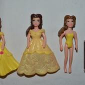 Mattel Polly Pocket кукла маленькая куколка фигурка полли Покет принцесса Дисней Бель