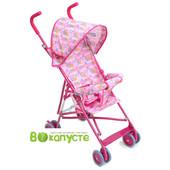 Коляска-трость для ребенка Bambi M 1702, цвет Малиновый
