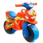Байк Спорт Мотоцикл Фламинго оранжево-голубой 0139/20 беговел