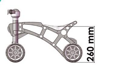 Ролоцикл 4 колеса розовый технок 3824 беговел пластиковый фото №11