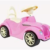 Машина BOC024611 для катания Орион Ретро 900 розовая