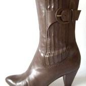Кожаные ботинки Clarks 37р