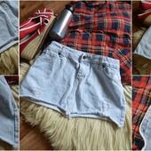 Рваная джинсовая юбка ,р-р М-Л