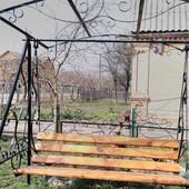 Качеля садовая