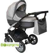 Универсальная детская коляска Anmar Infiniti 03N, цвет серый