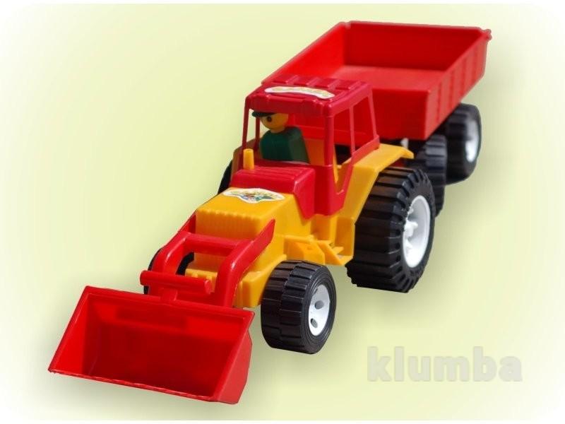 Трактор boc052461 з ковшем та пріцепом 007/2 бамсик фото №1