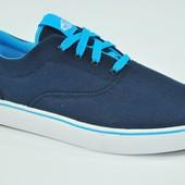 Мужские вансы (мокасины) Vans Blue