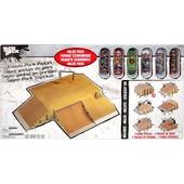 Игровой набор Tech Deck Эксклюзивный набор рамп для скейтпарка + фингерборды