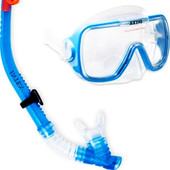 Набор Intex Wave Rider Swim Set состоит из маски и трубки. артикул 55950