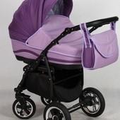 +видео! Универсальная коляска Anmar Zico 10, цвет Фиолетовый