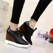 ХИТ 2016 Ботинки на платформе 36р