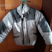 Куртка с отстегивающейся жилеткой
